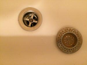 douche afvoer verstopt